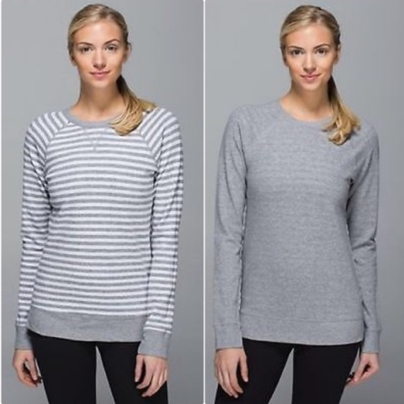 6a0681f5ad lululemon athletica Sweaters | Lululemon Open Your Heart Long Sleeve ...